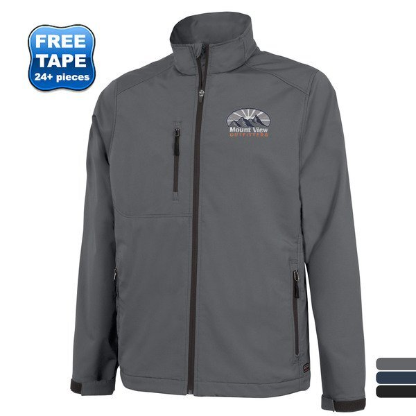 Charles River® Axis Men's Single Layer Soft Shell Jacket