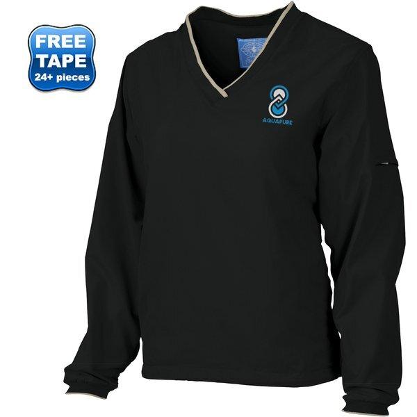 Charles River® Legend V-Neck Ladies' Windshirt