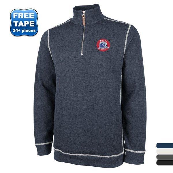 Charles River® Conway Men's Flatback Rib Pullover