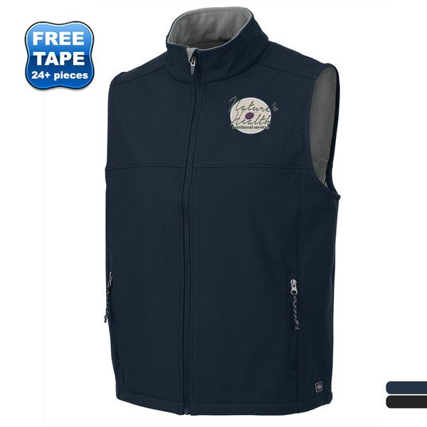 Charles River® Classic Men's 3-Layer Soft Shell Vest