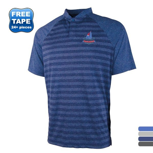 Charles River® Plymouth Men's Striped Polo