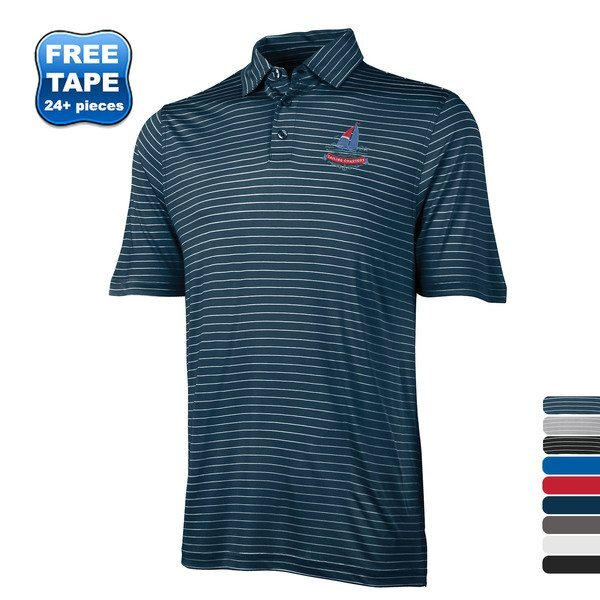 Charles River® Wellesley Men's Jersey Knit Polo