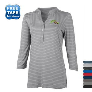 Ladies Long Sleeve Polos By Fire Public Safety Awareness