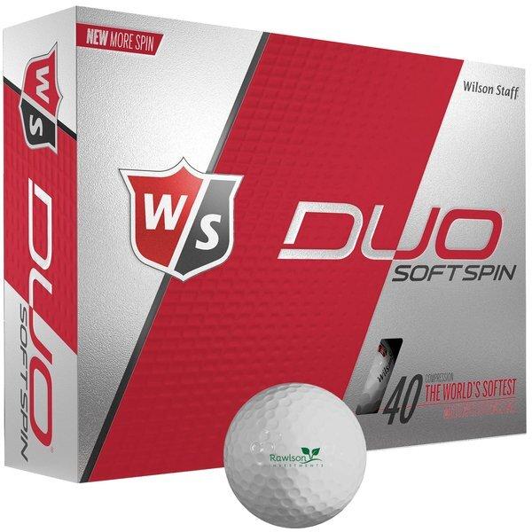 Wilson® Staff Duo Soft Spin, 12 Ball Box