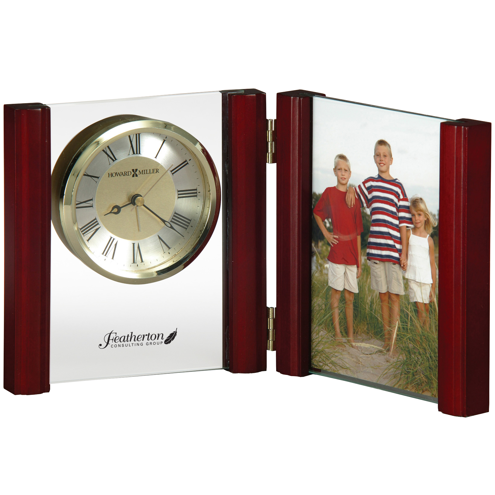 Howard Miller® Alex Alarm Clock & Photo Frame
