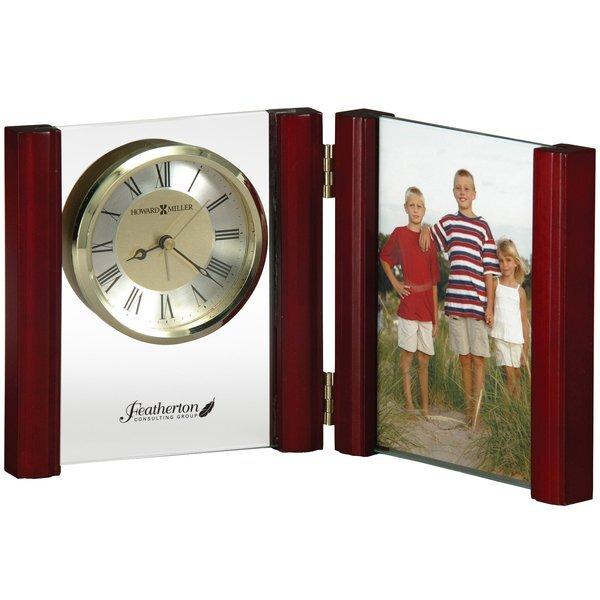 Howard Miller® Alex Alarm Clock & Photo Frame