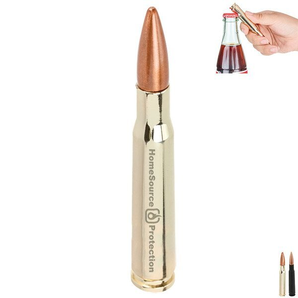Bullet Bottle Opener, 30 Caliber