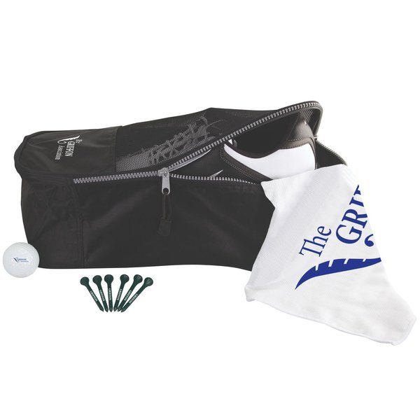 Shoe Tote Golf Kit with Callaway Warbird 2.0 Golf Ball