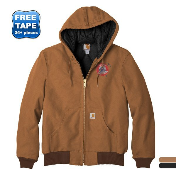 Carhartt®Tall Quilted Flannel-Lined Duck Active Jacket