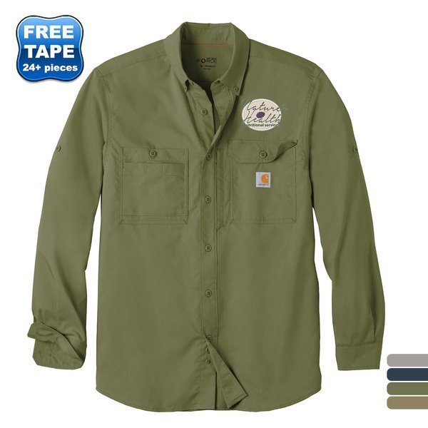 Carhartt Force®Ridgefield Solid Long Sleeve Shirt