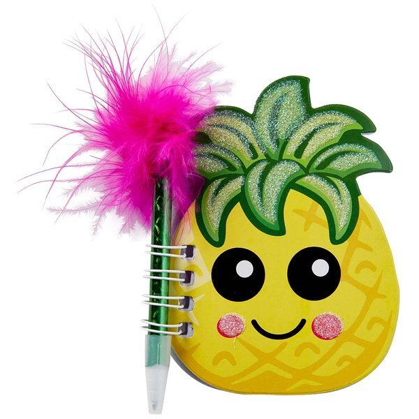 Pineapple Notebook And Pen Set