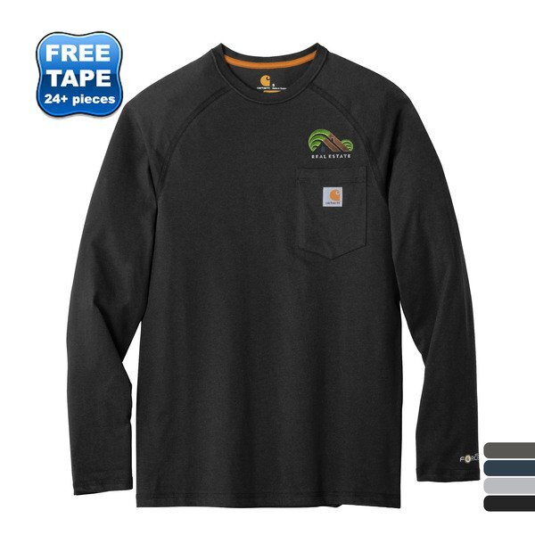 Carhartt Force®Cotton Delmont Long Sleeve T-Shirt