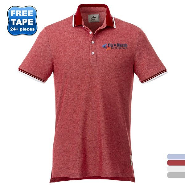 Roots 73® Limestone Mens Pique Polo