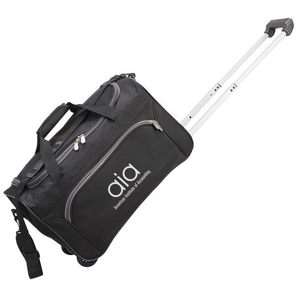 """Rolling Polyester Duffel, 30"""""""