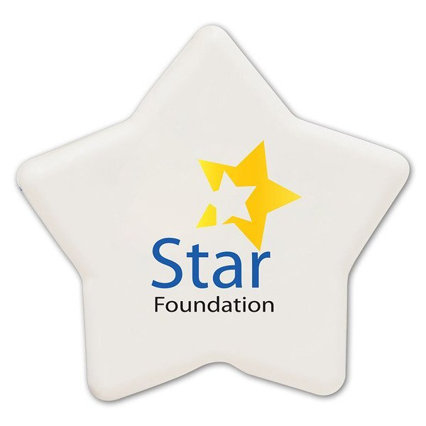 Star Pencil Top Eraser w/ Full Color Imprint