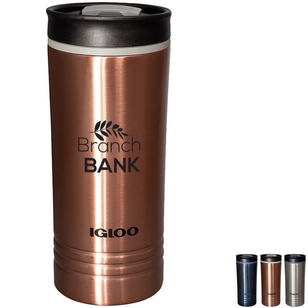 Igloo® Isabel Stainless Steel Vacuum Insulated Travel Tumbler, 16oz.