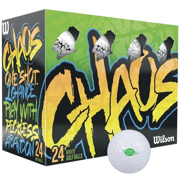 Wilson® Chaos Double Dozen Golf Balls