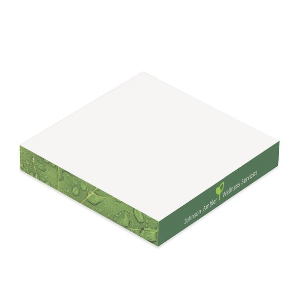 """BIC® Adhesive Note Cube, 3"""" x 3"""" x 1/2"""""""