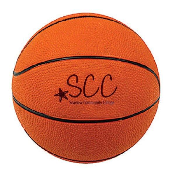 """Baden® Mini Rubber Basketball, 5"""""""