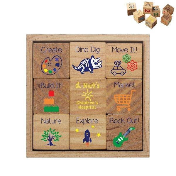 Wooden Block 10-Piece Set