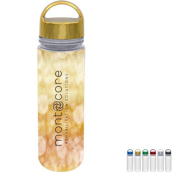 Metallic Arch Full Color Insert Bottle, 18 oz.