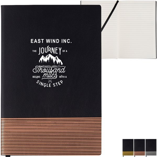 "Border Line Journal, 5 1/2"" x 8 1/4"""