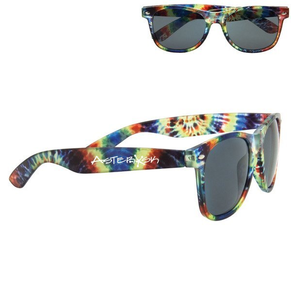 Tie-Dye Sunglasses w/ UV Protection