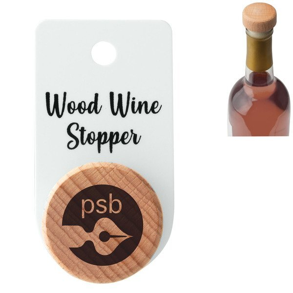 Wood Wine Stopper