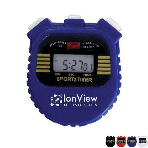 Digital Stopwatch with Lanyard