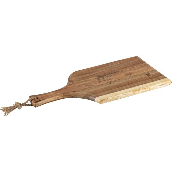 Artisan Acacia Serving Plank Cutting Board, 18""