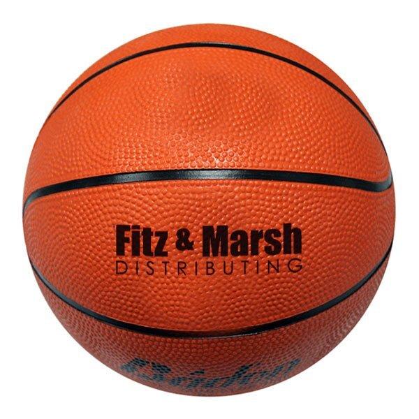 """Baden® Mini Rubber Basketball, 7"""""""