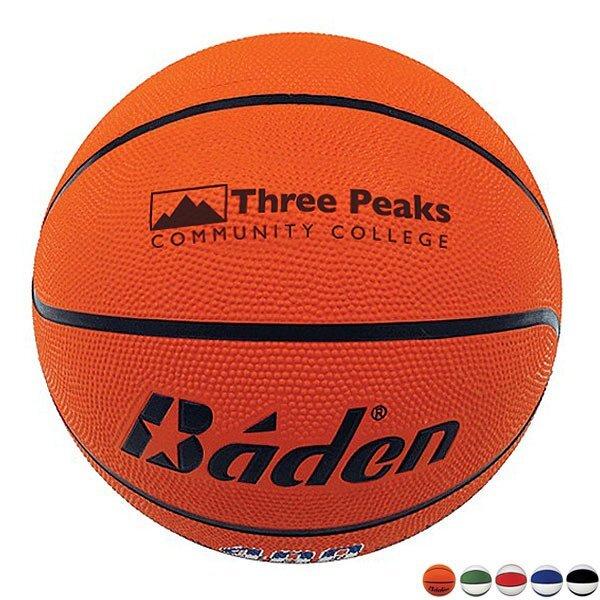 Baden® Official Size Rubber Basketball, Size 7