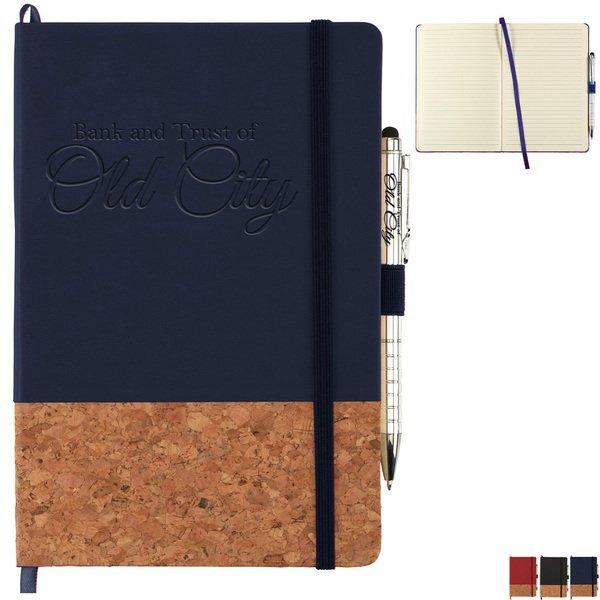 """Lucca Cork Bound JournalBook™ Bundle Set, 8-1/2"""" x 5-1/2"""""""