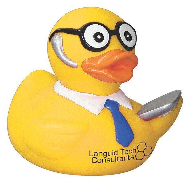 Techie Rubber Duck