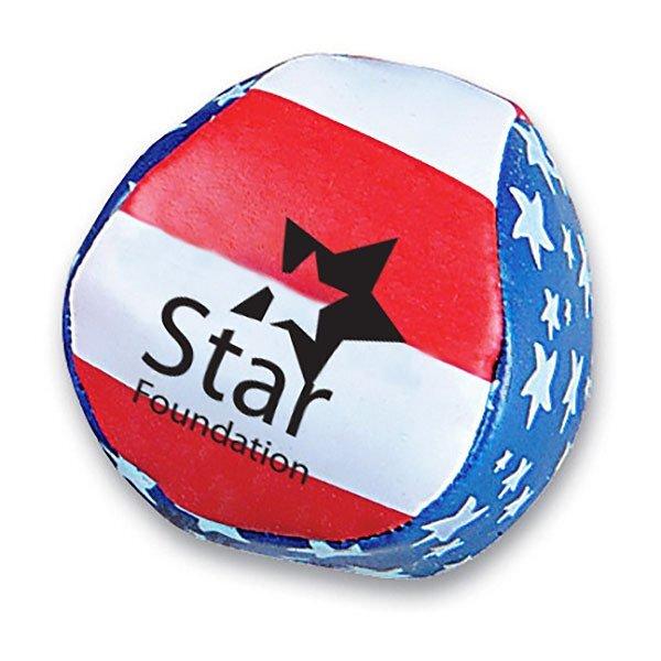 Patriotic Stars & Stripes Kick Ball