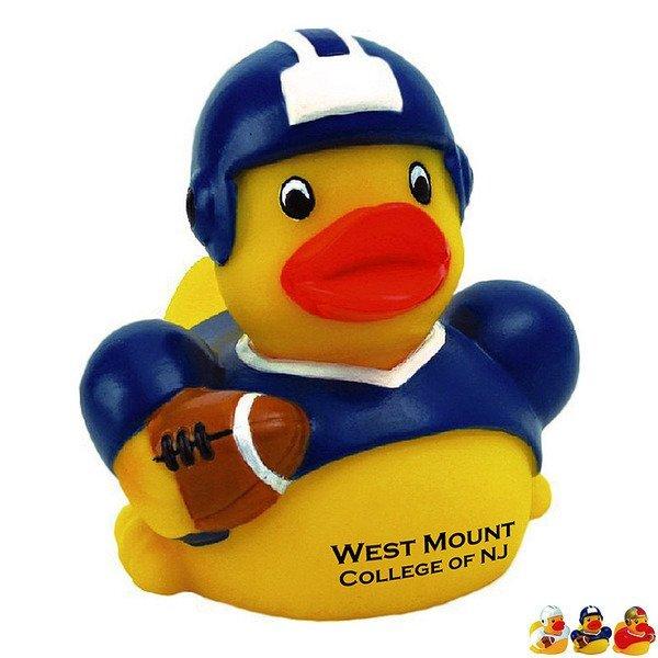 Football Player Rubber Duck