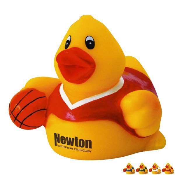 Basketball Player Rubber Duck