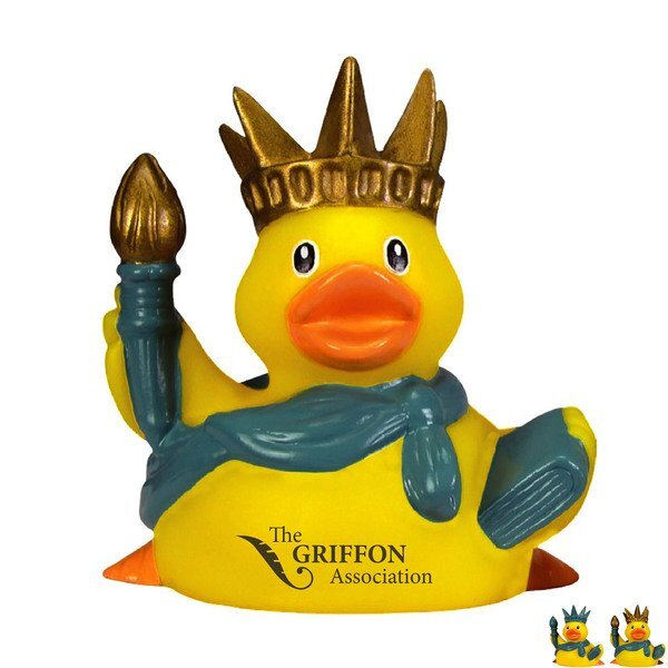 Lady Liberty Rubber Duck