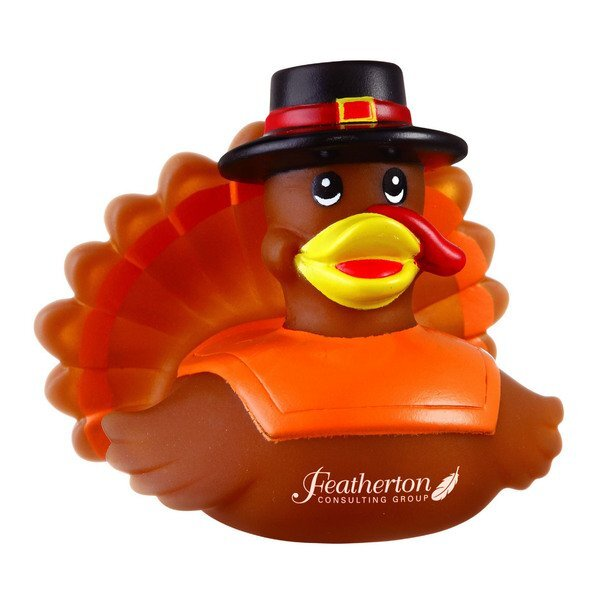 Thanksgiving Turkey Rubber Duck