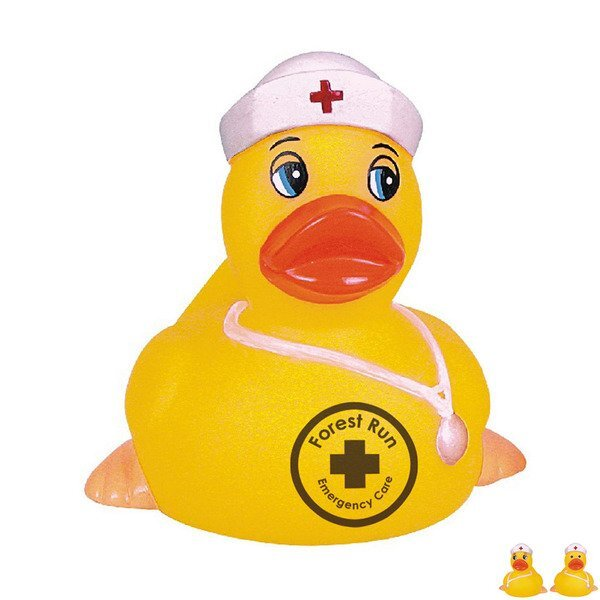 Vintage Nurse Rubber Duck