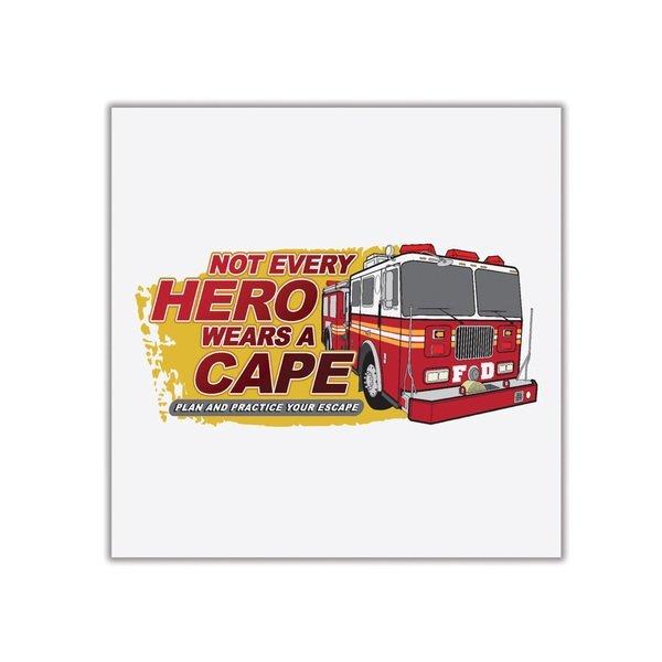 Not Every Hero Wears A Cape Temporary Tattoo, Stock