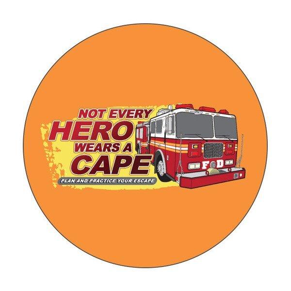 Not Every Hero Wears A Cape Sticker Roll, Stock