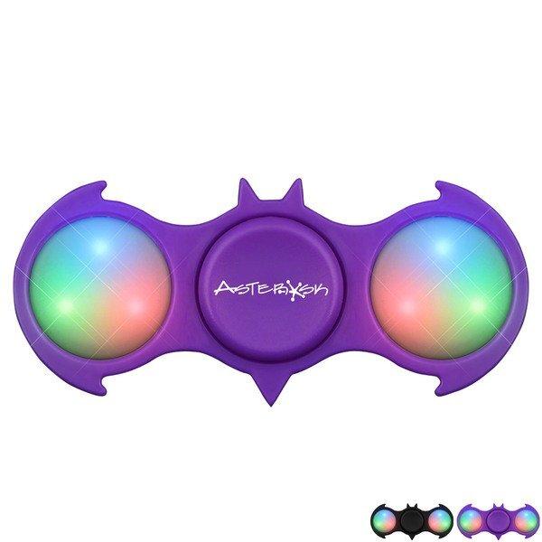 Bat Light Up LED Fidget Spinner
