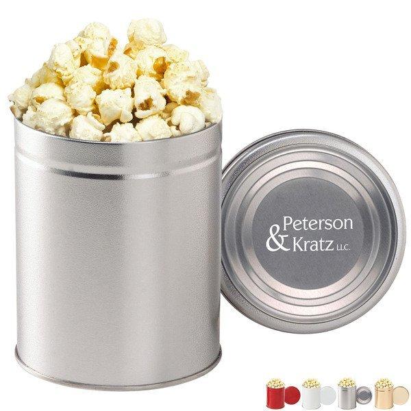 Gourmet White Cheddar Popcorn Tin, Quart