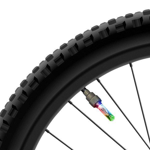 Flashing LED Bicycle Tire Valve Lights