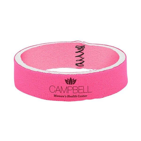Pink Neoprene Wristband