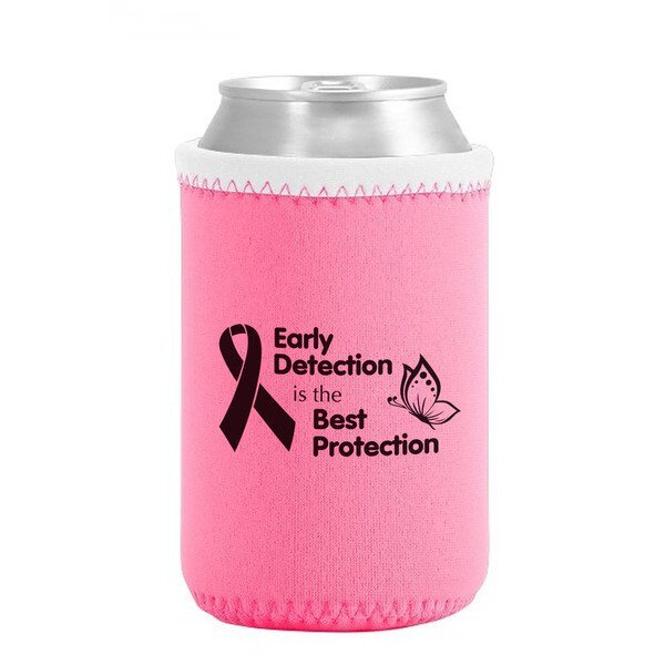 Liam Pink Neoprene Can Cooler