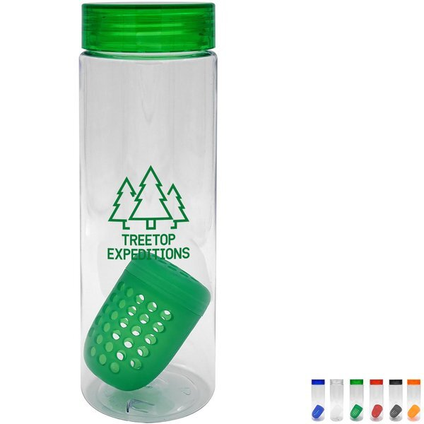 Clear View Bottle w/Floating Infuser, 24 oz.