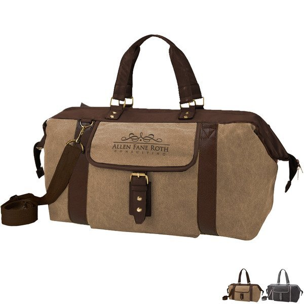 Arlington Cotton Canvas Duffel Bag