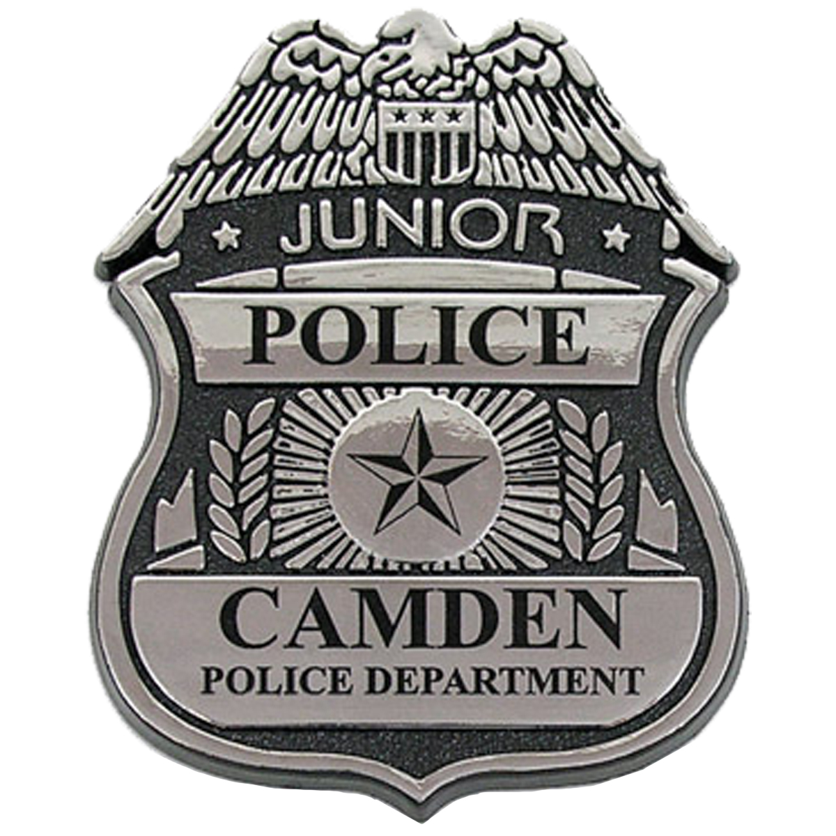 Junior Police Officer Badge, Clip Backing, Custom